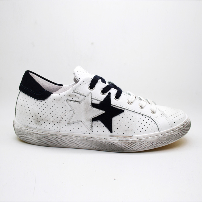 2Star Sneakers BIANCO NAVY LOW
