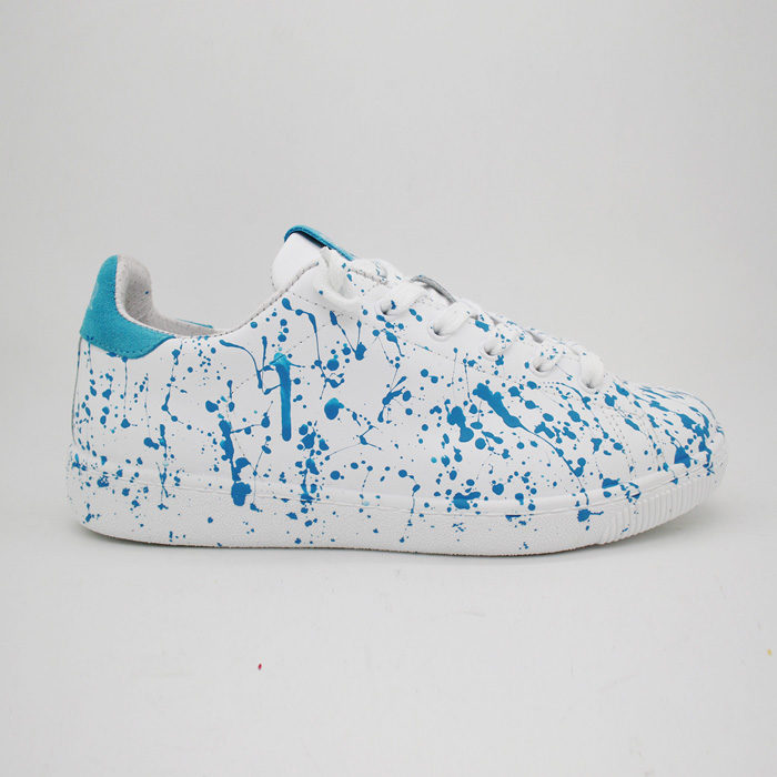 2Star Sneakers BIANCO TURCHESE LOW