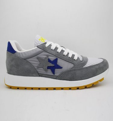 2Star Sneakers GRIGIO AZZURRO RUNNING